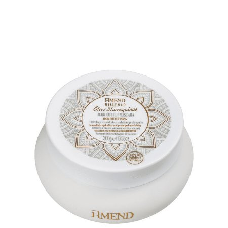 Amend Millenar Óleos Marroquinos Hair Butter - Máscara Capilar 300g