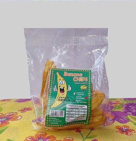 Banana Chips Salgado 45 g
