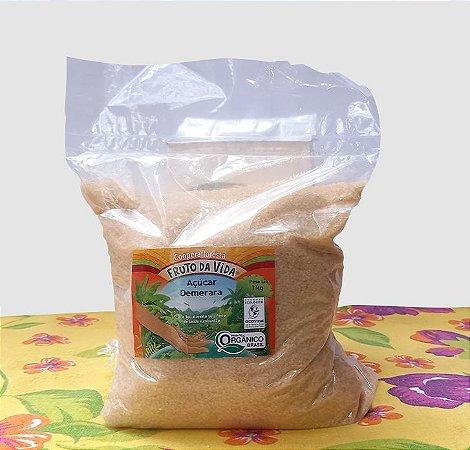 Açúcar demerara 1 kg