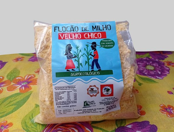 Flocão de Milho Agroecológico Velho Chico 500 g