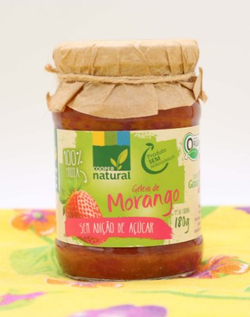 Geleia de Morango S/ Açúcar 180g