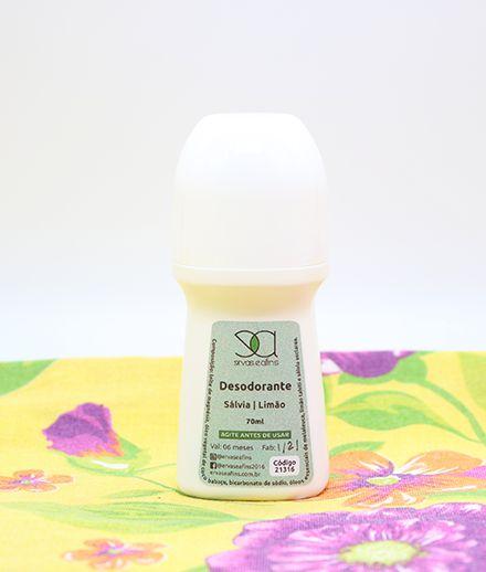 Desodorante Sálvia e Limão
