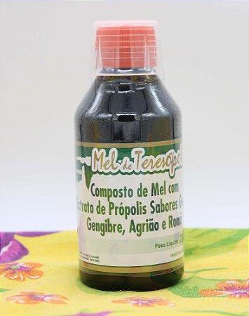 Composto de Mel com Extrato de Própolis, Guaco, Gengibre, Agrião e Romã 280g
