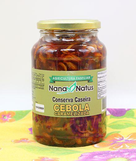 Conserva de Cebola Caramelizada 500ml