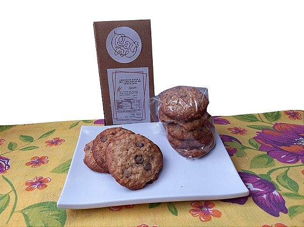 Cookie de Aveia com Gotas de Chocolate 8 unidades
