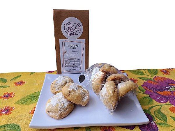 Biscoito de Manteiga com Nozes 8 unidades