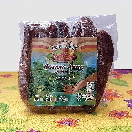 Banana caturra passa orgânica 200 g