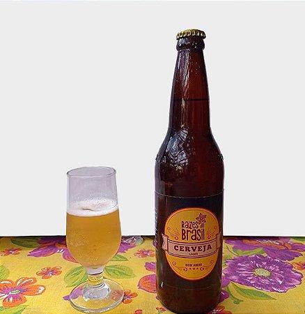 Cerveja Raízes do Brasil Milho Lager 5,1%