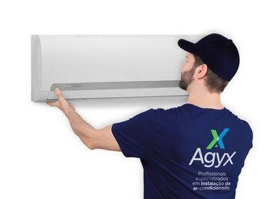Instalação de Ar-Condicionado Bi Split Hi Wall 1x9000 BTUs + 1x18000 BTUs