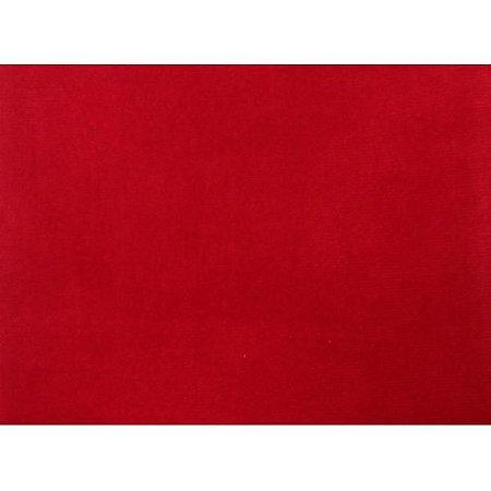 Tecido 100% algodão Liso Vermelho - 0,50 metro