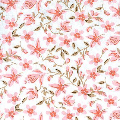 Tecido 100% algodão - Estampa Flor - 0,50 metro