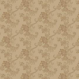 Tecido 100% algodão - Estampa   Flores com Ramos       -  0,50 metro