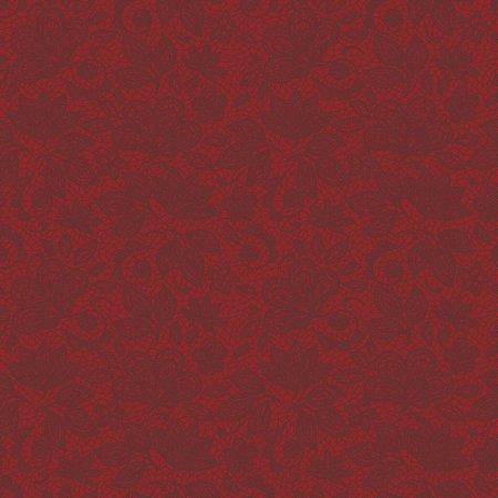 Tecido 100% algodão - Estampa Renda Sangue          -  0,50 metro