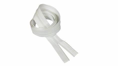 Zíper N°5 Branco - 1Metro