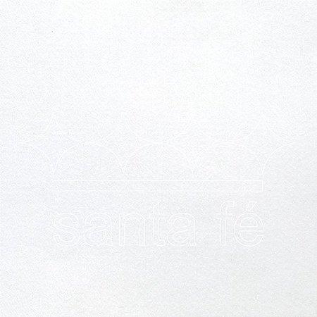 Feltro 100% Poliéster - Branco -  1 metro