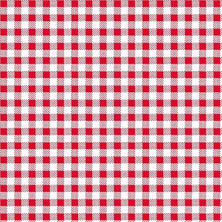 TEcido 100% algodão - Estampa Xadrez Medio Vermelho -  0,50 metro