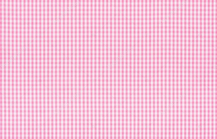 Tecido 100% algodão - Estampa Xadrez Miudo Rosa -  0,50 metro