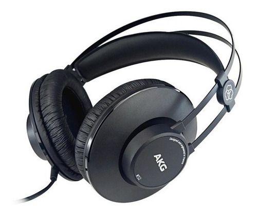 Fone Ouvido Akg K52 - Original Profissional
