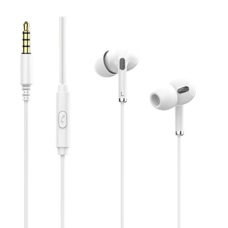 Fone de Ouvido In-Ear H150 Branco TELEFUNKEN original