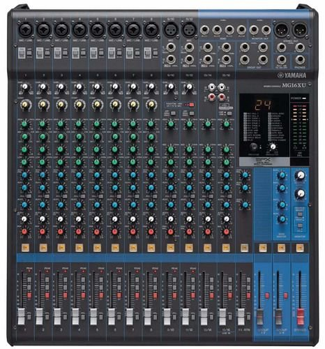 Mesa de Som analógica Yamaha MG 16 XU