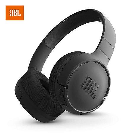 Fone de Ouvido Bluetooth On Ear Tune 500 Preto JBL original