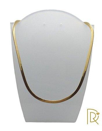 Gargatilha Choker Dourada