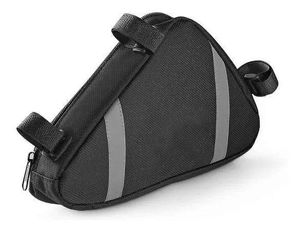 Bolsa de Quadro Ziper à prova d'água Tiras Velcro Reflexiva