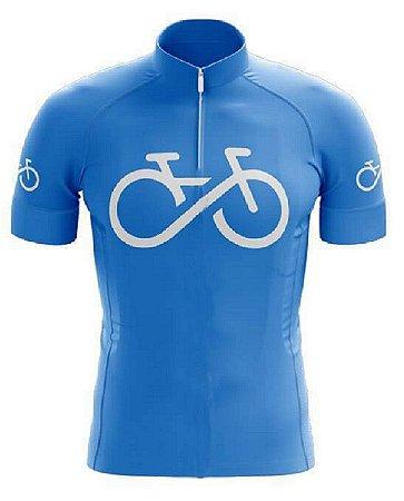 Camisa Manga Curta Forever Bike Bicicleta Ziper Mtb Dry Fit