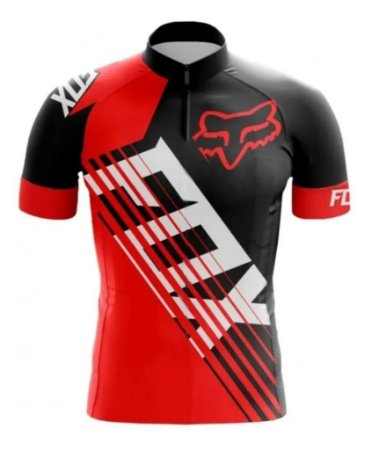 Camisa Manga Curta Esporte Bicicleta Fitness Mtb Ciclismo Fox