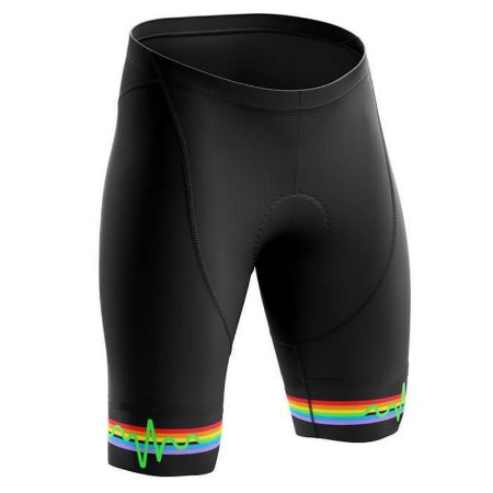 Bermuda Pink Floyd Preta Ciclismo Com Forro Gel Confortável