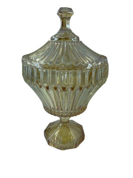 Potiche Cristal Decor Renaissence Âmbar 7232
