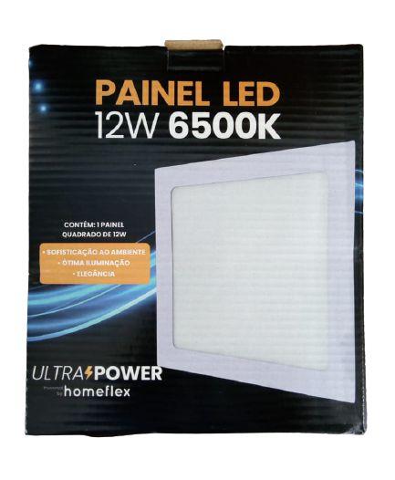Painel Led Quadrado 12W 6500K