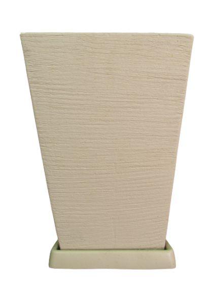 Vaso Quadrado Médio com Prato Cores Sortidos