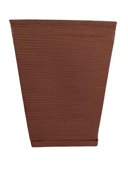 Vaso Quadrado Pequeno com Prato Cores Sortidos