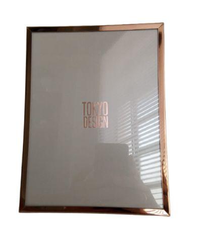 Porta Retrato Metal Dourado 15x20