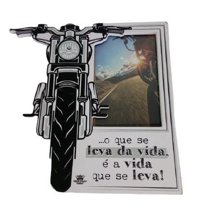 Porta Retrato Moto