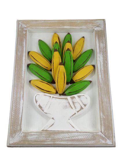 Quadro Banana Madeira P