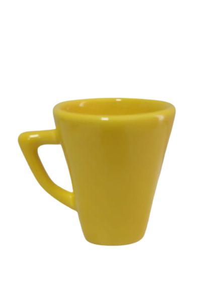Caneca Cônica Amarela 250ML