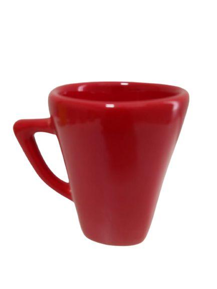 Caneca Cônica Vermelha 250ML