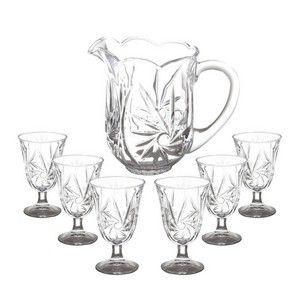 Conjunto Cristal Jarra com 6 Taças Prima 6830