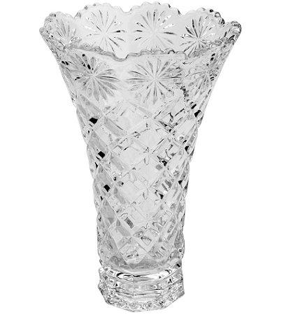 Vaso de Cristal Diamond Star 15x25CM