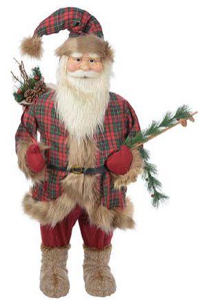 Papai Noel em Pé 98CM