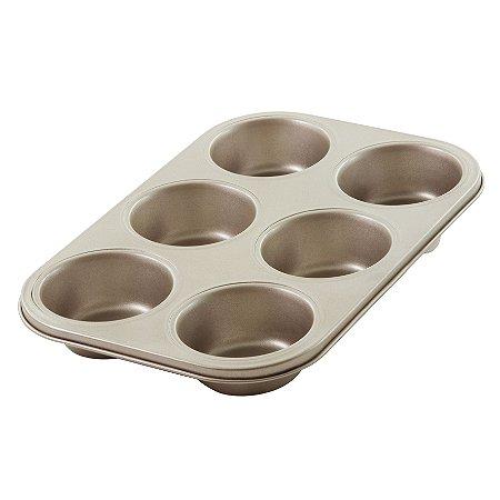 Forma para 6 Cupcakes Lumiere