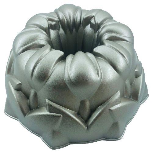 Forma para Bolo Tulipa Alumínio Fundido