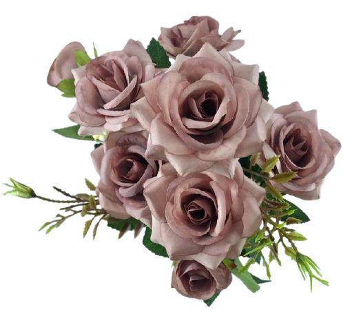 Buque Rosa Diamante X6 30CM Rosa Antigo 03322