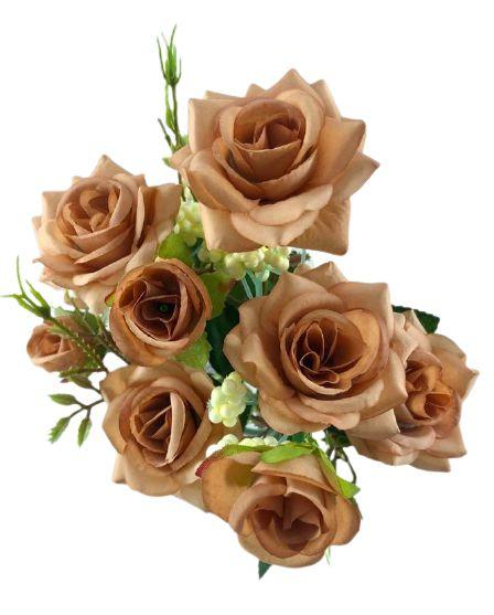Buque Rosa Diamante X6 30CM Salmão 03322