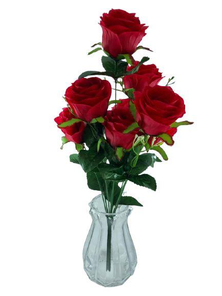 Buque Rosa X9 51CM Vermelho