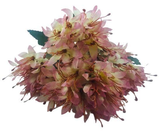 Buque Lírio Mini Rose Outono 32CM