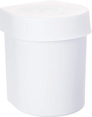 Lixeira de Pia Branca 3,5L Hide LX710