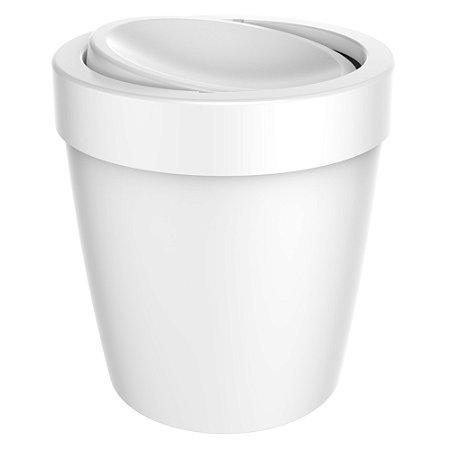 Lixeira Vitra Branco Basculante LX655